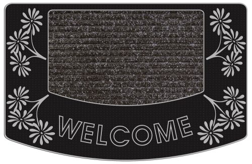 224 Aloha Welcome-Silver Doormats New Arrival